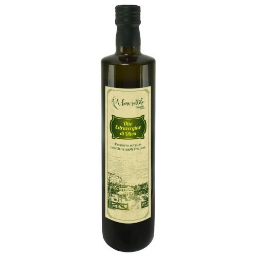 OLIO EXTRA VERGINE DI OLIVA  gusto delicato  0.75cl