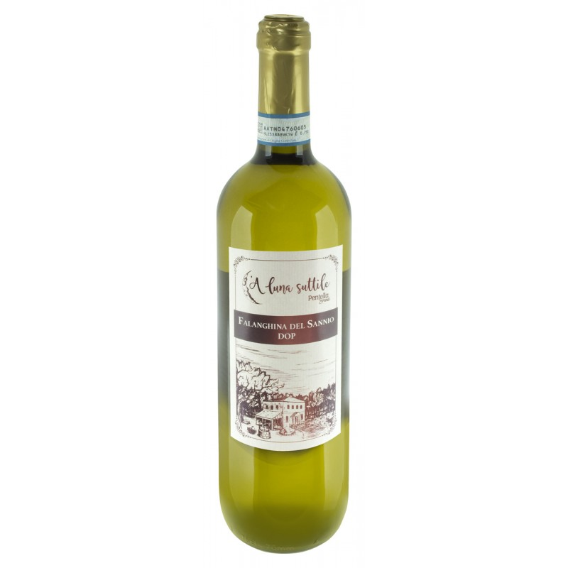 FALANGHINA DEL SANNIO DOC vino italiano 100% annata 2015